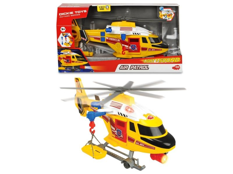 AS Záchranářský vrtulník 41cm - Dickie AS Záchranársky vrtuľník 41 cm