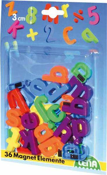 Magnetické písmená malé, 30 mm - Magnetické písmena malá 30 mm